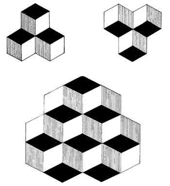 English: Optical illusion image used in psycho...