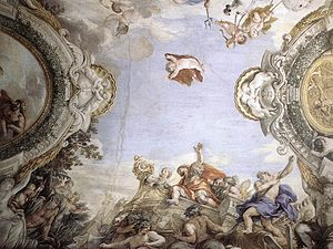 Pietro da Cortona - Landing of the Trojans at ...
