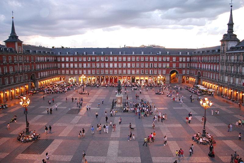 Plaza Mayor de Madrid Lugares turisticos de Madrid