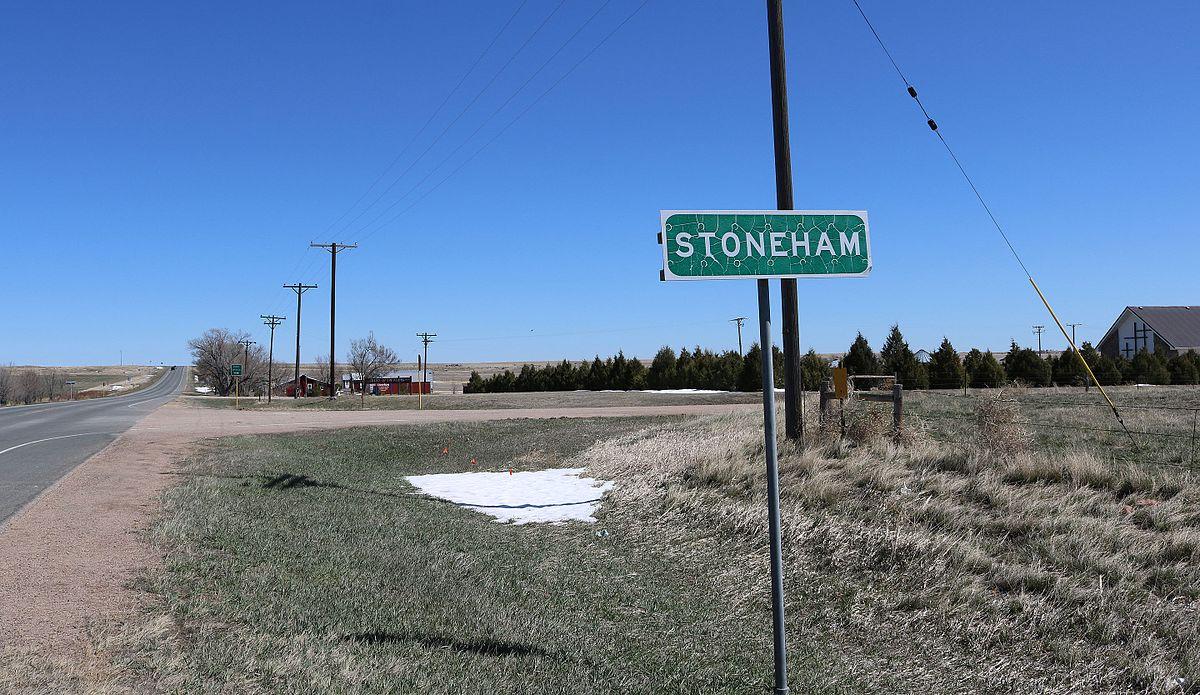Weld County Colorado Road Map