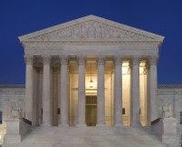 File:Supreme Court Front Dusk.jpg