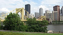 Andy Warhol Bridge in Pittsburgh