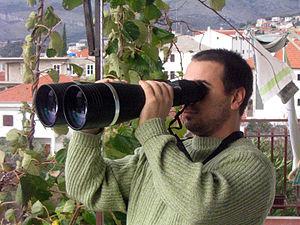 Binoculars, 25x100