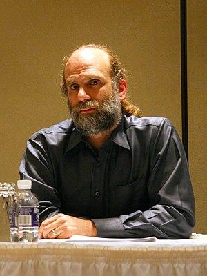 English: Bruce Schneier at CFP 2007: Open pane...