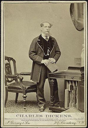 Charles Dickens, circa 1860