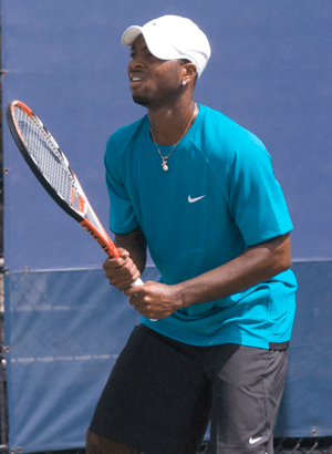 Donald Young at the 2009 US Open