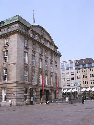 Deutsch: Die ehemalige Hamburger Hauptstelle d...