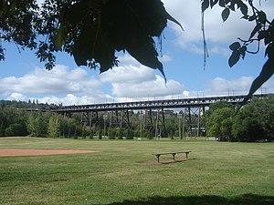 English: High Level Bridge Edmonton Alberta