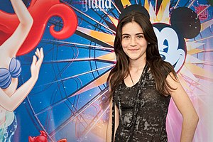 English: Isabelle Fuhrman at the World of Colo...