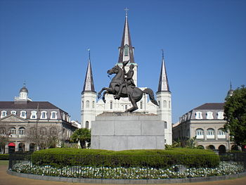 English: Jackson Square - New Orleans
