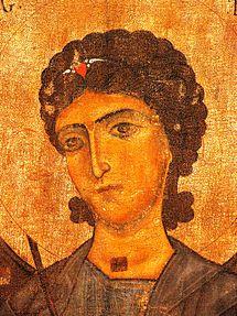 Mestia Museum. Archangel Gabriel. 12th c..jpg