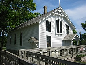 Minnehaha Grange Hall in Edina, Minnesota.