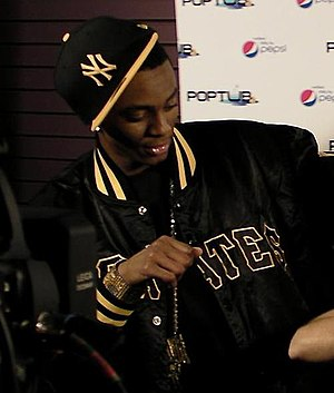 Soulja Boy Tell 'Em on YouTube Live. Cropped v...