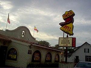 The original Taco Bell design.