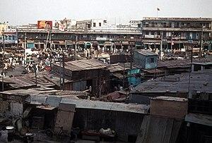 1973 Delhi Slum