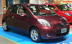2nd generation Toyota Vitz (2007 - ) photograp...