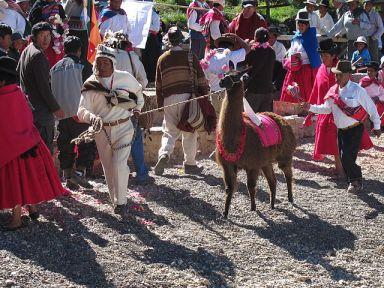 Aymara ceremony