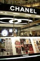 Chanel cosmetics at the Galeries LaFayette in ...