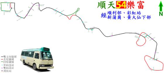 九龍區專線小巴54線 - Wikiwand