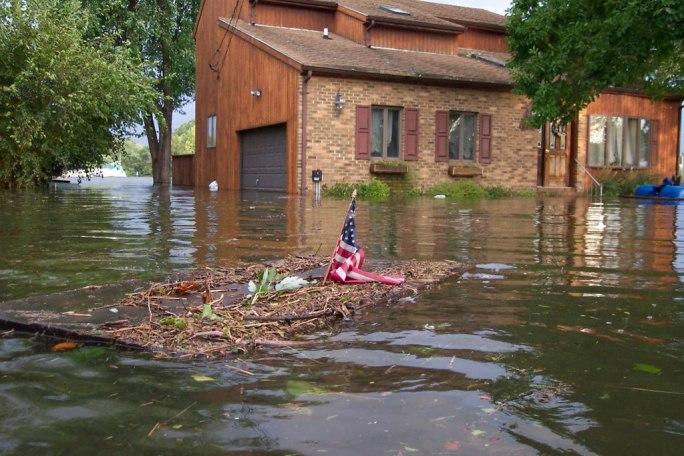 Hurricane Isabel flood damage Maryland