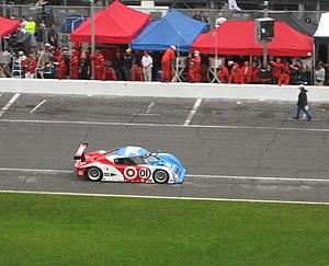 Lexus racing car