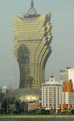 Grand Lisboa Hotel in Macao