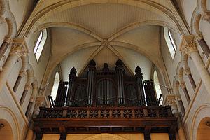 Français : Orgues de l'église Saint-Pierre, Ne...