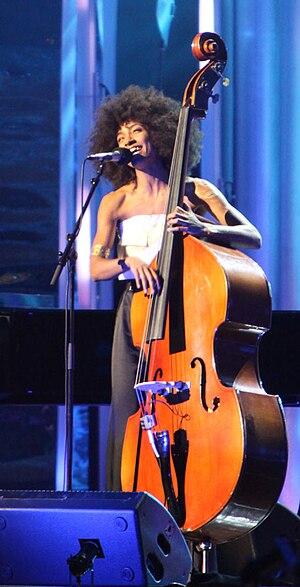 Esperanza Spalding at The Nobel Peace Prize Co...
