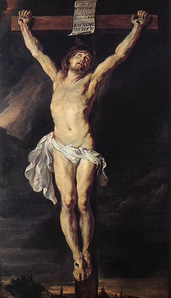 Peter Paul Rubens - The Crucified Christ - WGA...