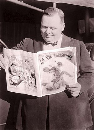 "English: Roscoe ""Fatty"" Arbuckle"