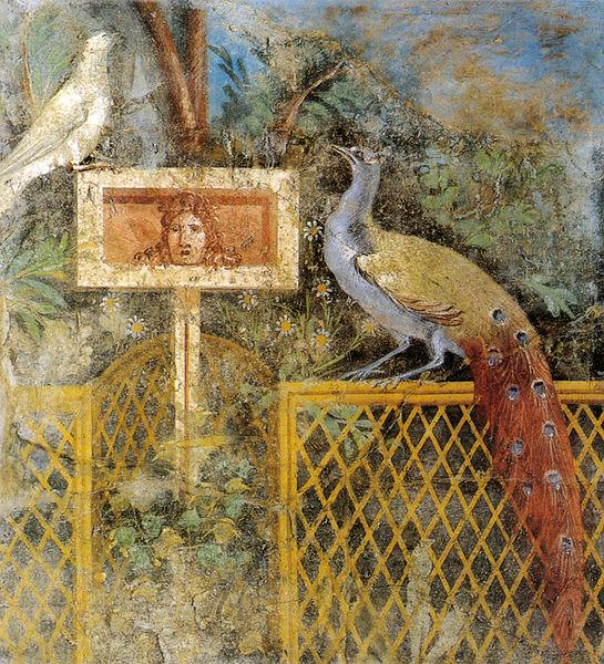 File:Affresco di giardino da pompei, museo archeologico nazionale, napoli.jpg