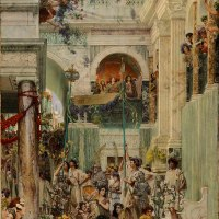Spring by Lawrence Alma-Tadema