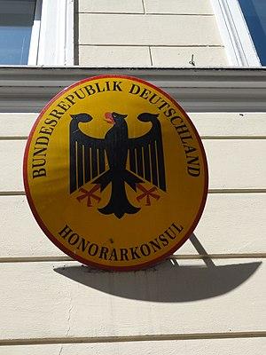 Deutsch: Bozen-Bolzano - Honorarkonsulat der B...