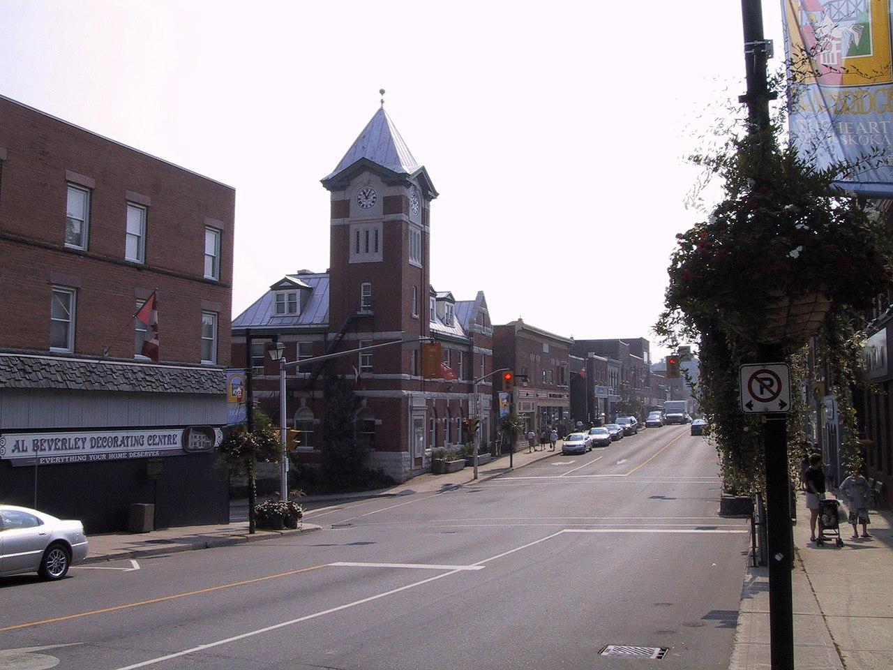 File Bracebridge Ontario Manitoba Street Jpg Wikipedia