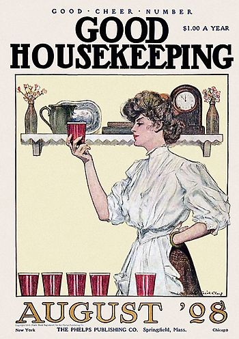 Good Housekeeping is one of several periodical...