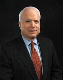 John McCain official photo portrait.