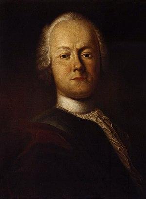 Portrait of Friedrich Gottlieb Klopstock