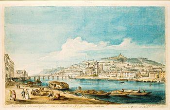 Lyon la Sâone et Fourvière