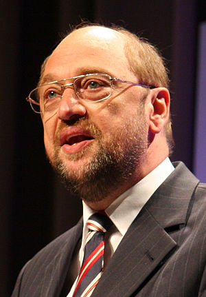 English: Martin Schulz during the election cam...