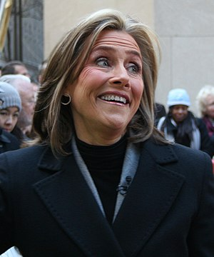 Meredith Vieira in NYC, 2009.