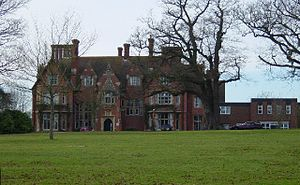 English: Muntham House School. The school is d...