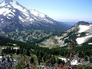 English: Jefferson Park, Oregon Cascade Range,...
