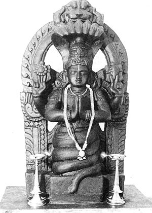 Patañjali as an incarnation of Adi Sesha