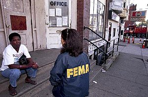A Federal Emergency Management Agency (FEMA) w...