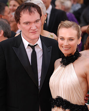 Quentin Tarantino and Diane Kruger look anythi...