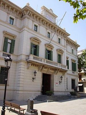 Former casa de la Vila de Sarrià (Sarrià town ...