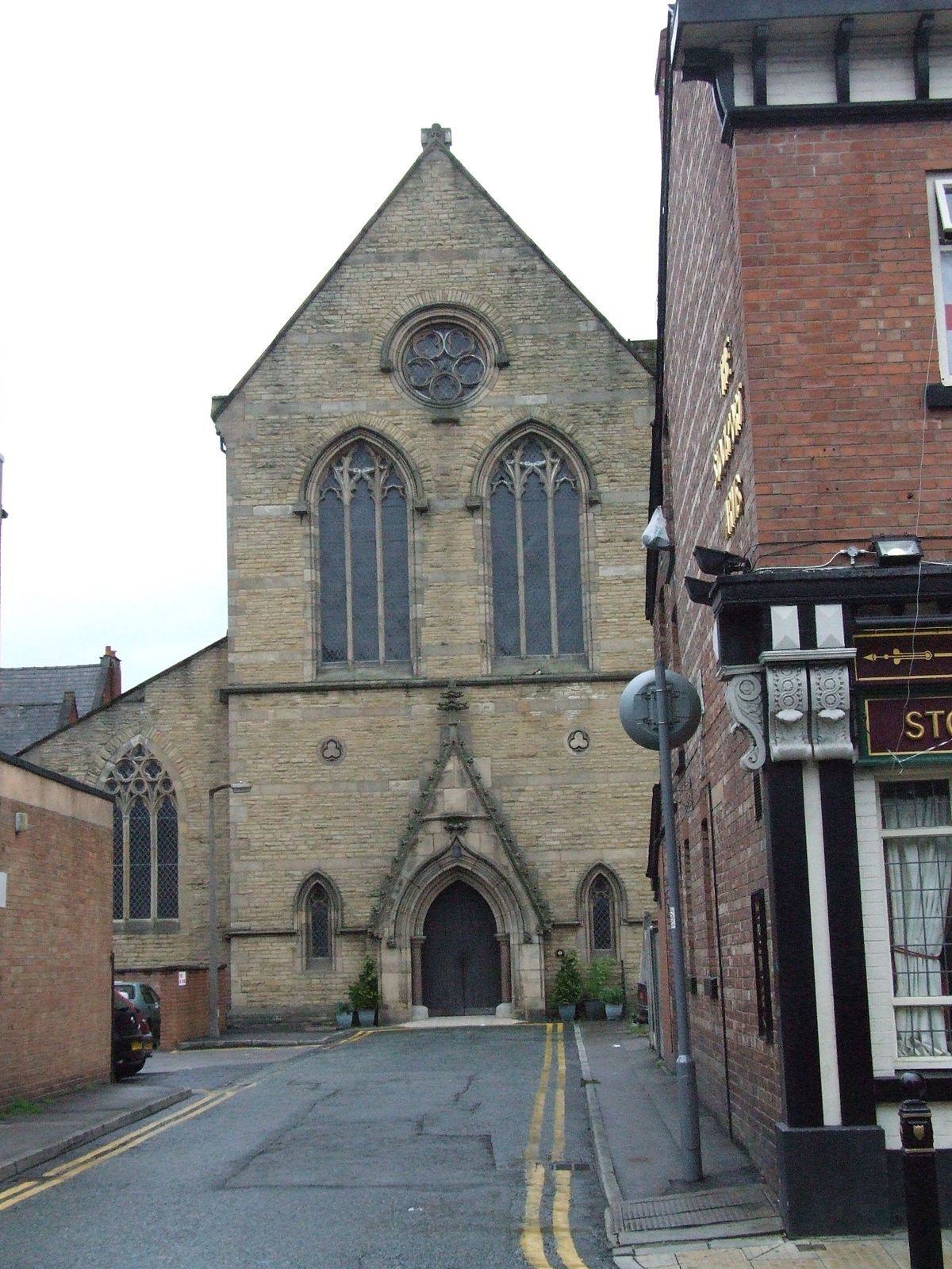 St Joseph S Church Stockport Wikipedia