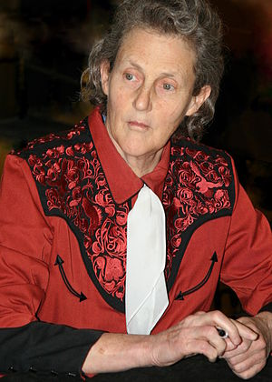 English: Temple Grandin at a book signing at R...