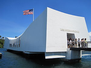 English: The USS Arizona Memorial, Pearl Harbor