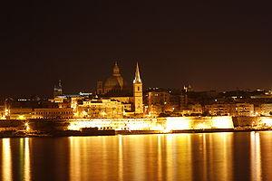 View of Valletta from Sliema